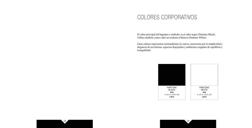 Manual de identidad visual corporativa Hotel la pelotari 8