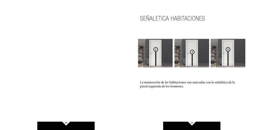 Manual de identidad visual corporativa Hotel la pelotari 13