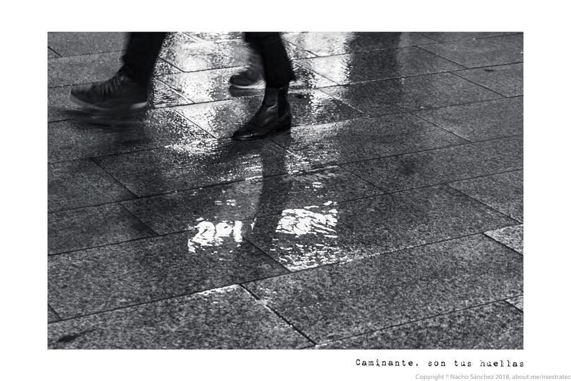 Caminante. Imágenes para el poema nº. XXIX Proverbios y Cantares, de Antonio Machado. Serie de 11 fotos. 0