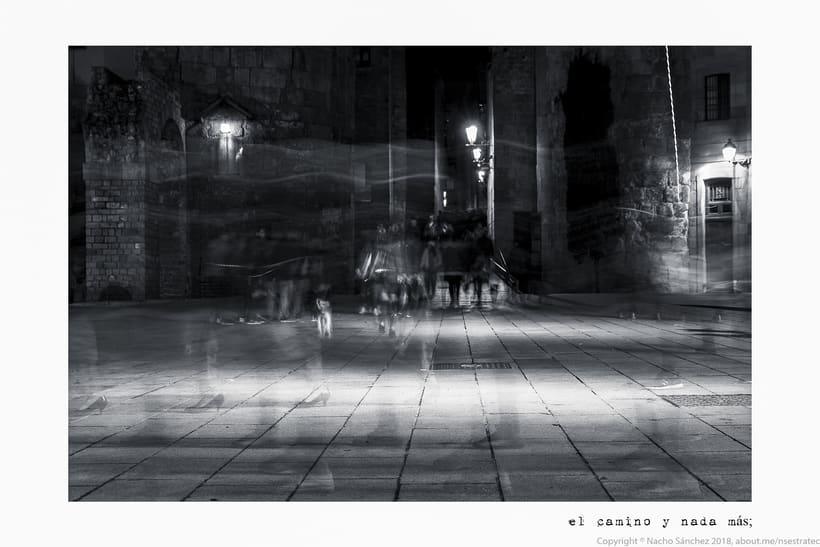Caminante. Imágenes para el poema nº. XXIX Proverbios y Cantares, de Antonio Machado. Serie de 11 fotos. 1