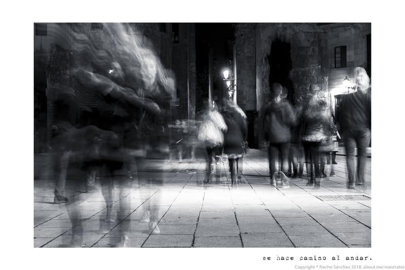 Caminante. Imágenes para el poema nº. XXIX Proverbios y Cantares, de Antonio Machado. Serie de 11 fotos. 3