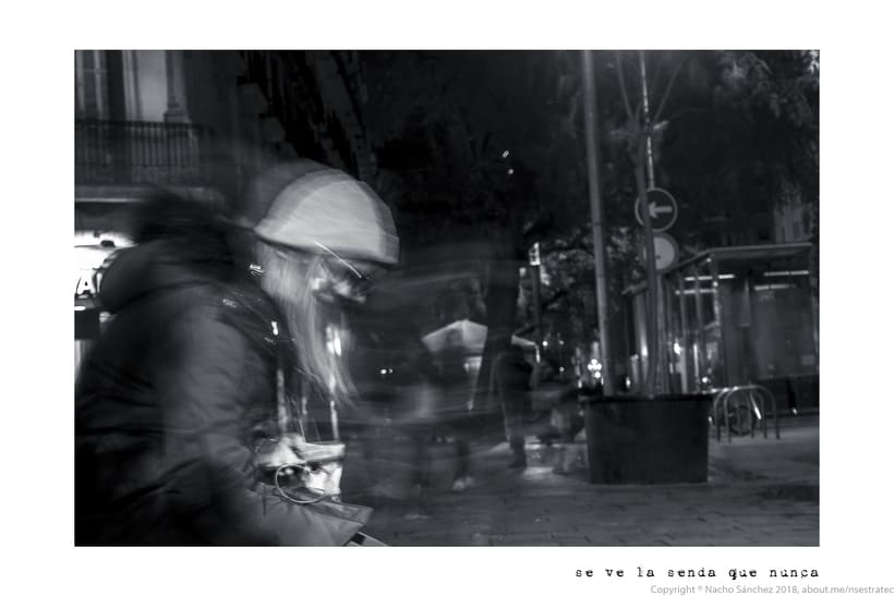 Caminante. Imágenes para el poema nº. XXIX Proverbios y Cantares, de Antonio Machado. Serie de 11 fotos. 6