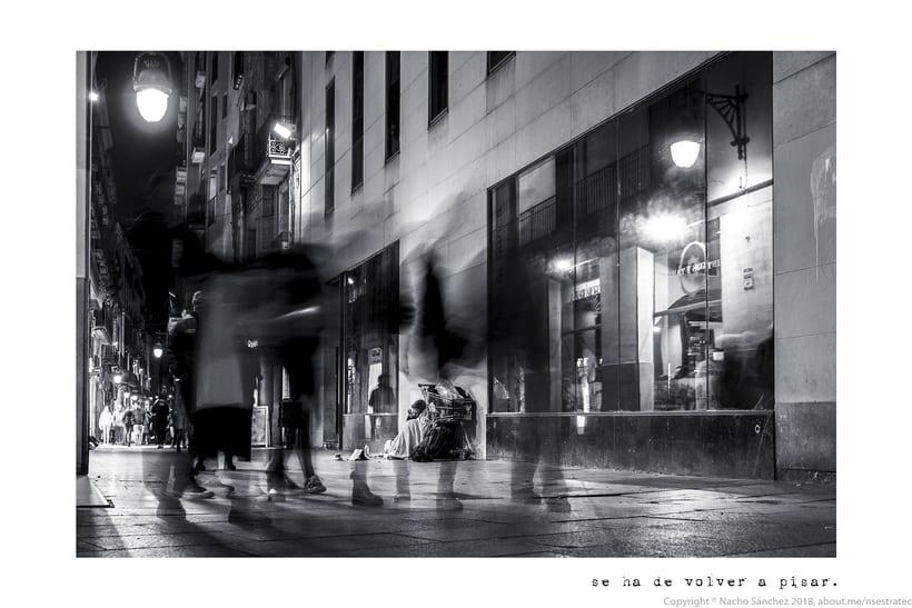 Caminante. Imágenes para el poema nº. XXIX Proverbios y Cantares, de Antonio Machado. Serie de 11 fotos. 7