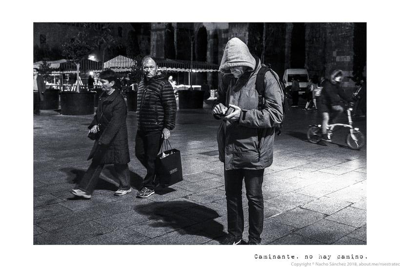 Caminante. Imágenes para el poema nº. XXIX Proverbios y Cantares, de Antonio Machado. Serie de 11 fotos. 8