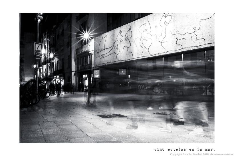 Caminante. Imágenes para el poema nº. XXIX Proverbios y Cantares, de Antonio Machado. Serie de 11 fotos. 9
