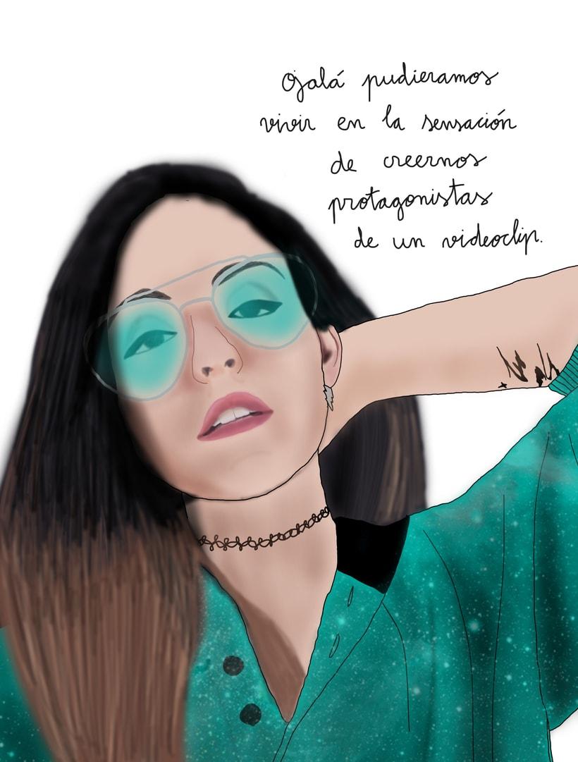 Retratos ilustrados -1