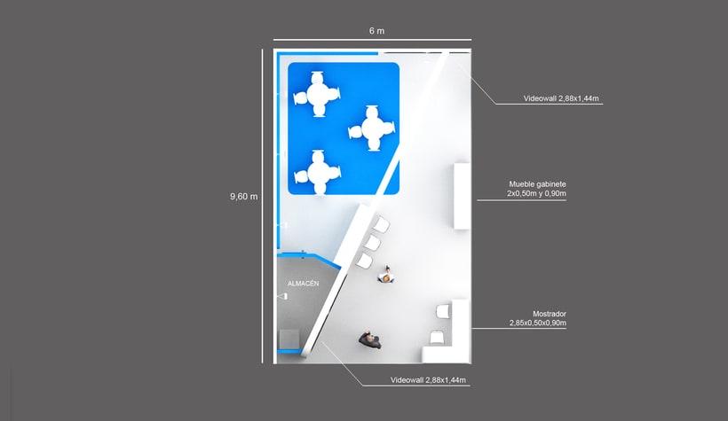 Diseño de stand Createch 360º - Ifat 2018 - Munich 5