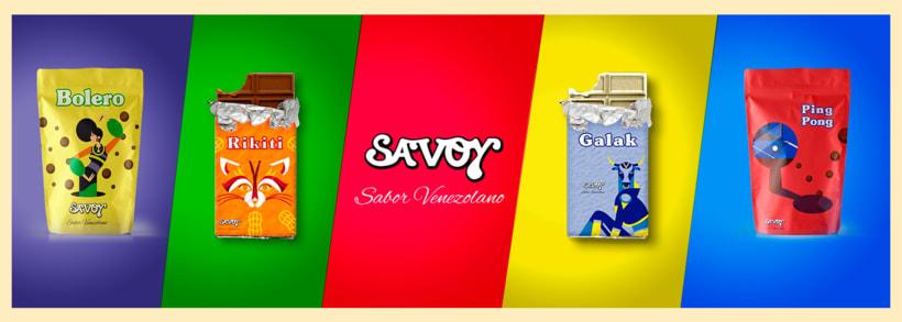Re-diseño de la marca Savoy ve 7