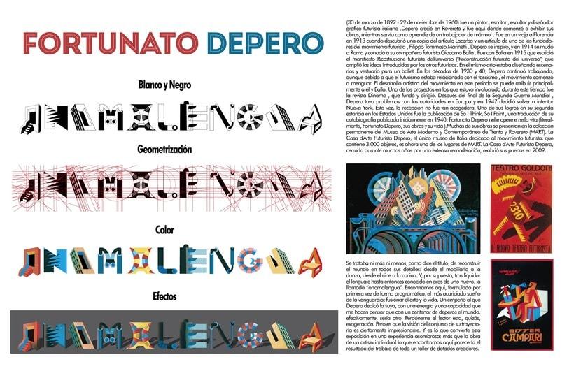Tipografía experimental 0