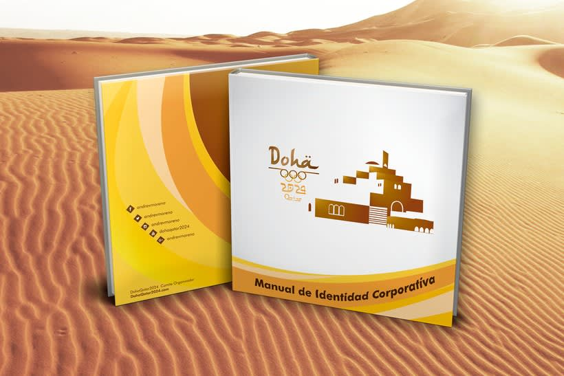 Manual corporativo de Olimpiadas Doha-Qatar 0