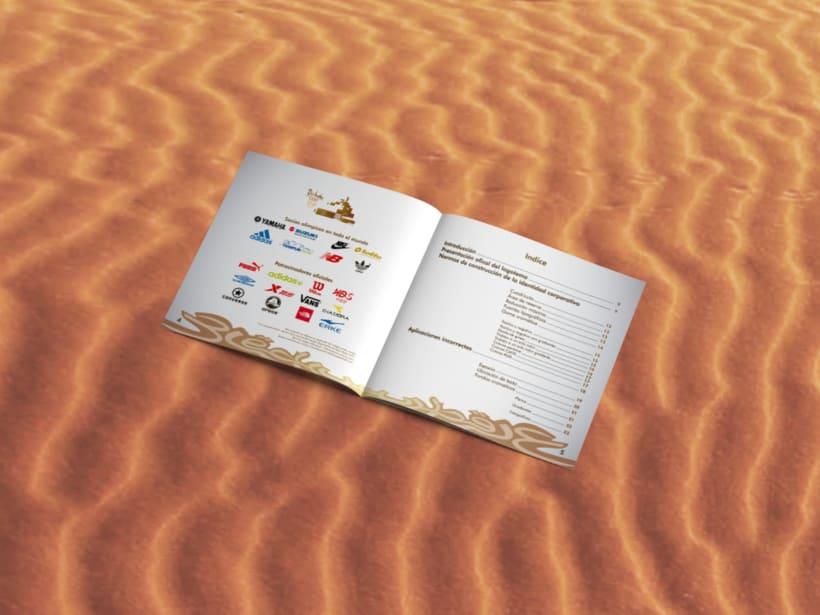 Manual corporativo de Olimpiadas Doha-Qatar 1
