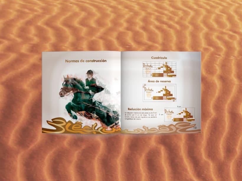 Manual corporativo de Olimpiadas Doha-Qatar 2