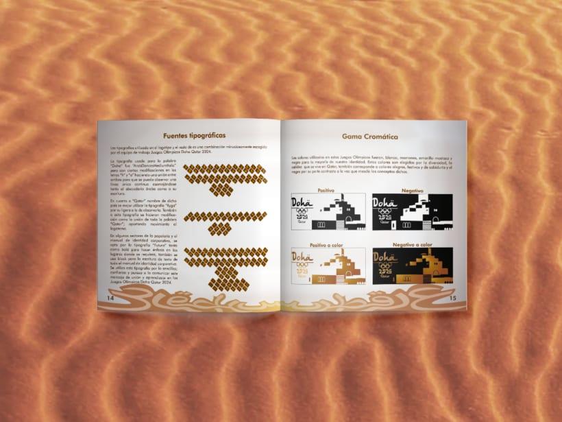 Manual corporativo de Olimpiadas Doha-Qatar 3