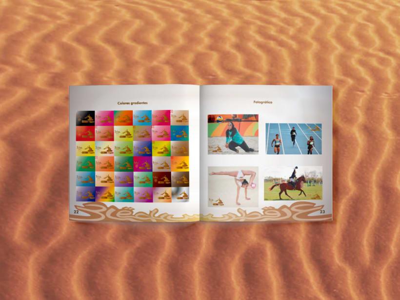 Manual corporativo de Olimpiadas Doha-Qatar 6