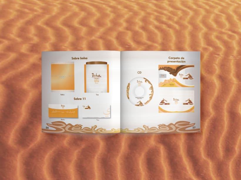Manual corporativo de Olimpiadas Doha-Qatar 7