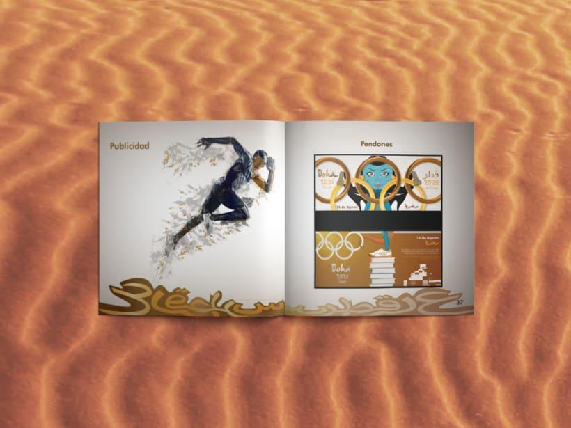 Manual corporativo de Olimpiadas Doha-Qatar 9