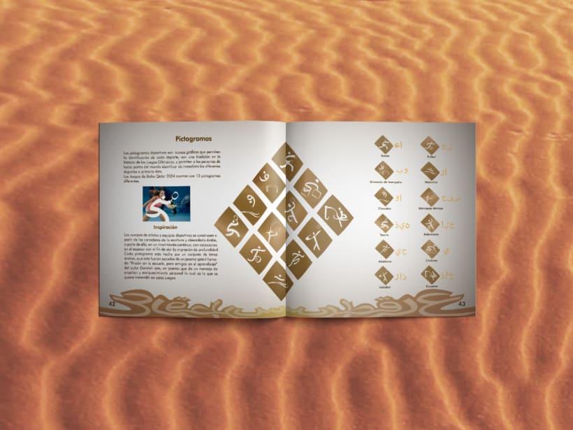 Manual corporativo de Olimpiadas Doha-Qatar 10