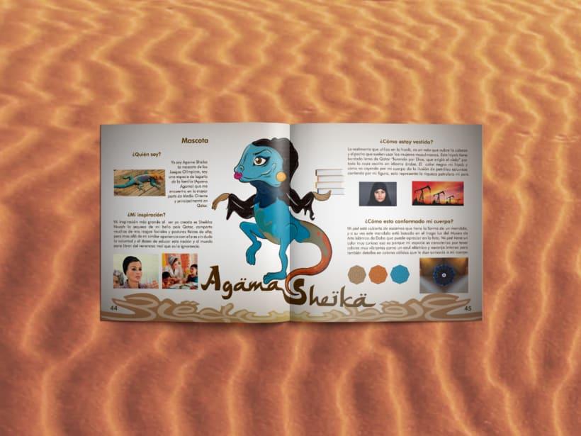 Manual corporativo de Olimpiadas Doha-Qatar 11