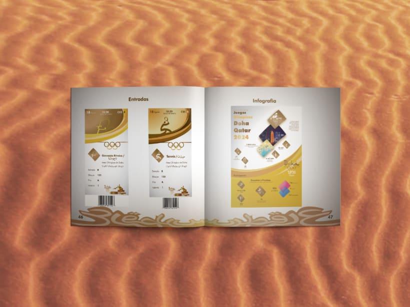 Manual corporativo de Olimpiadas Doha-Qatar 12