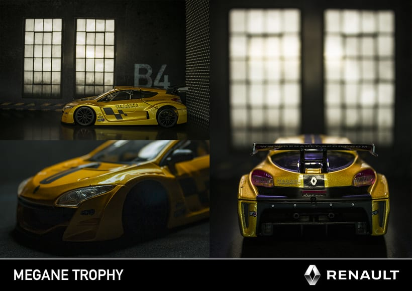 Renault Megane Trophy - Diecast 5