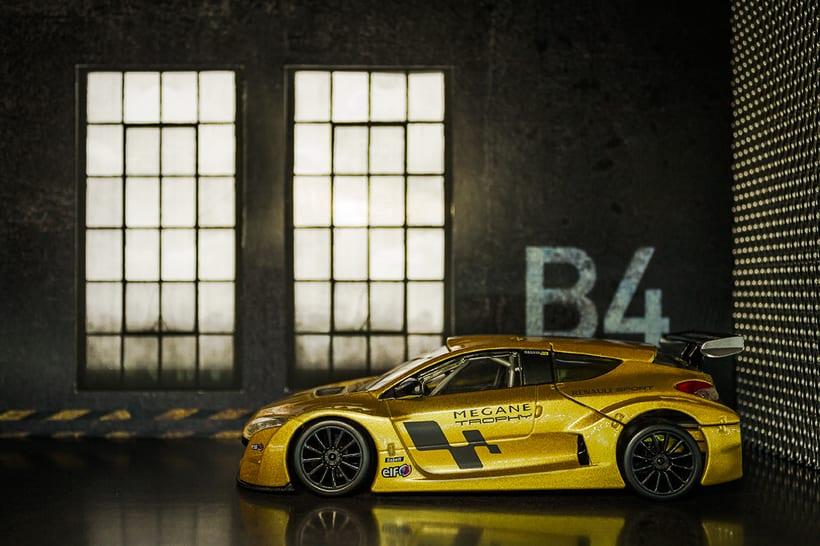 Renault Megane Trophy - Diecast 2