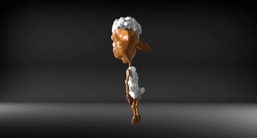 """Creación de personajes inspirado en """"Rebelión en la granja"""" 6"""