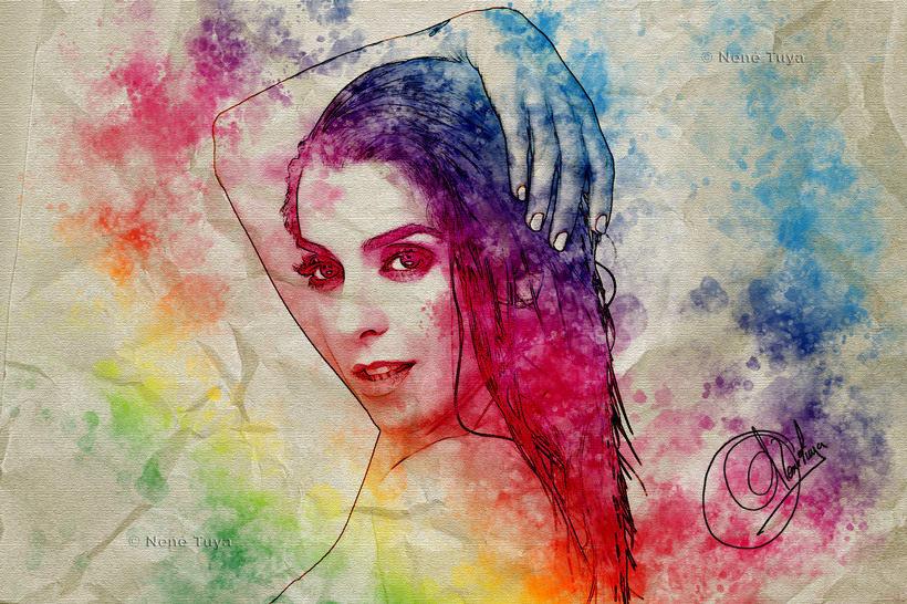 Digital Art (Watercolors) 12