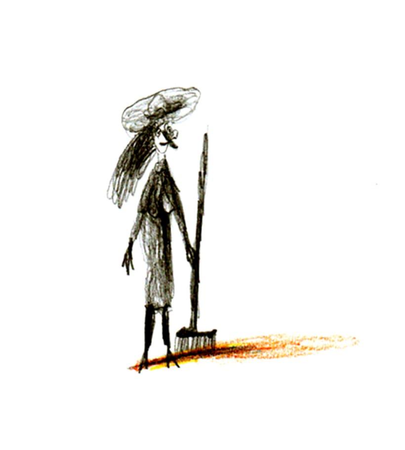 El torero, la mujer, el niño y la bruja 2
