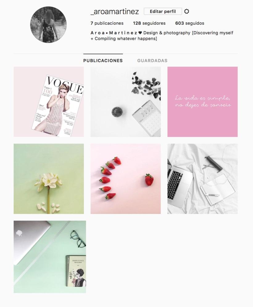 Mi Proyecto del curso: Fotografía profesional para Instagram 1