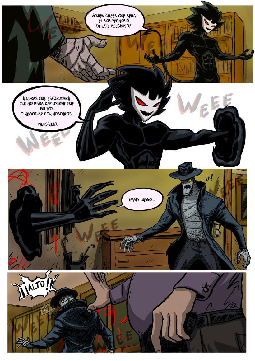 nuevas paginas de Detective Misterio 20