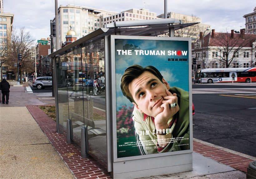 "Carteles cine ""The Truman Show"" 0"