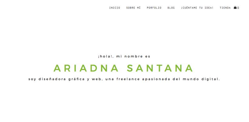 Mi Proyecto del curso: Ariadna Santana | Studio Creativo -1