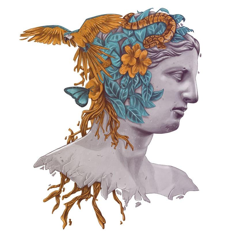 Venus y naturaleza  -1