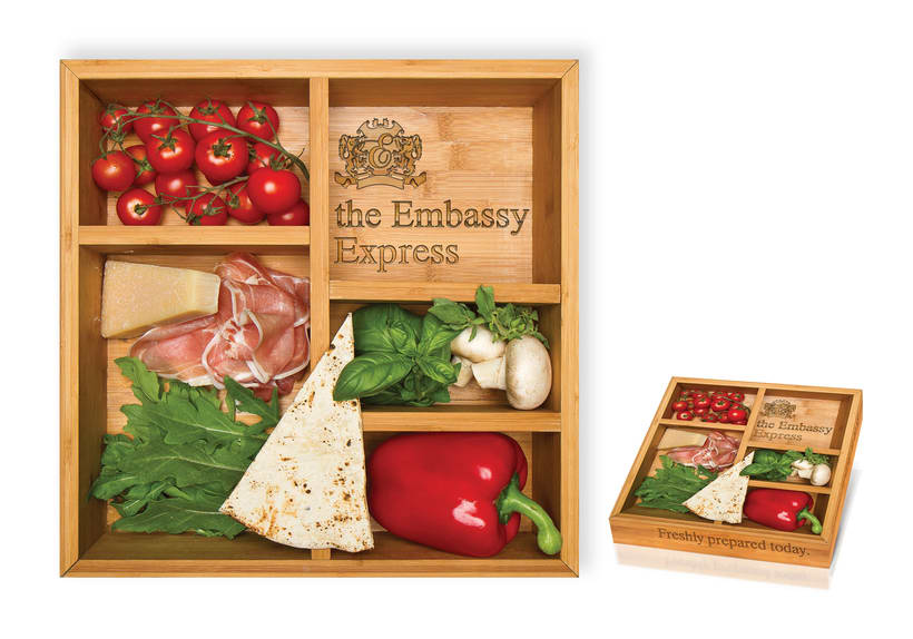 the Embassy Express | Packaging -1
