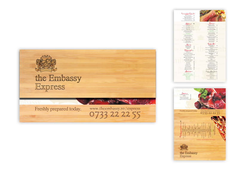 the Embassy Express | Packaging 0