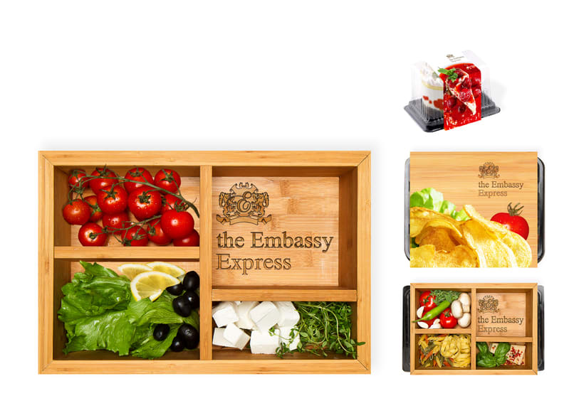 the Embassy Express | Packaging 2