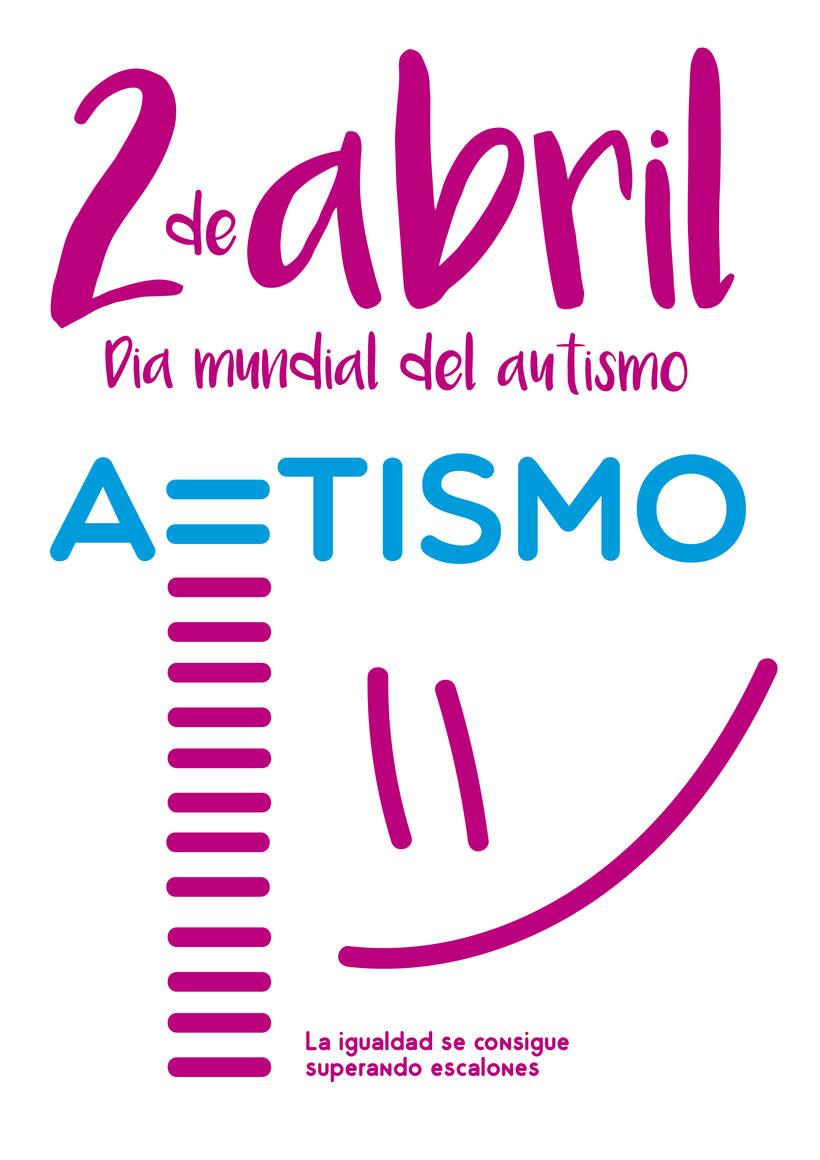 Cartel día Mundial del Autismo  1