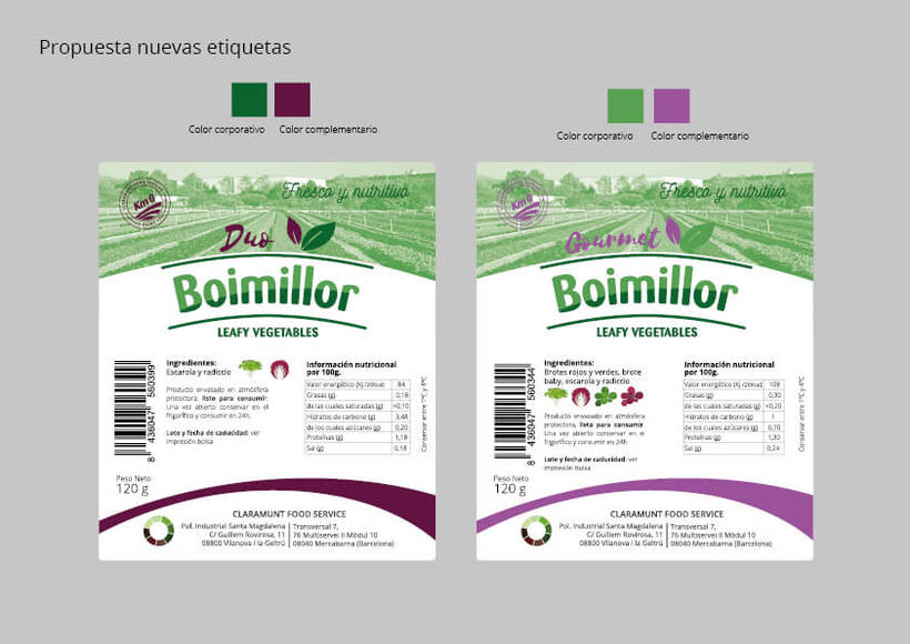 Rediseño etiquetas Boimillor 15