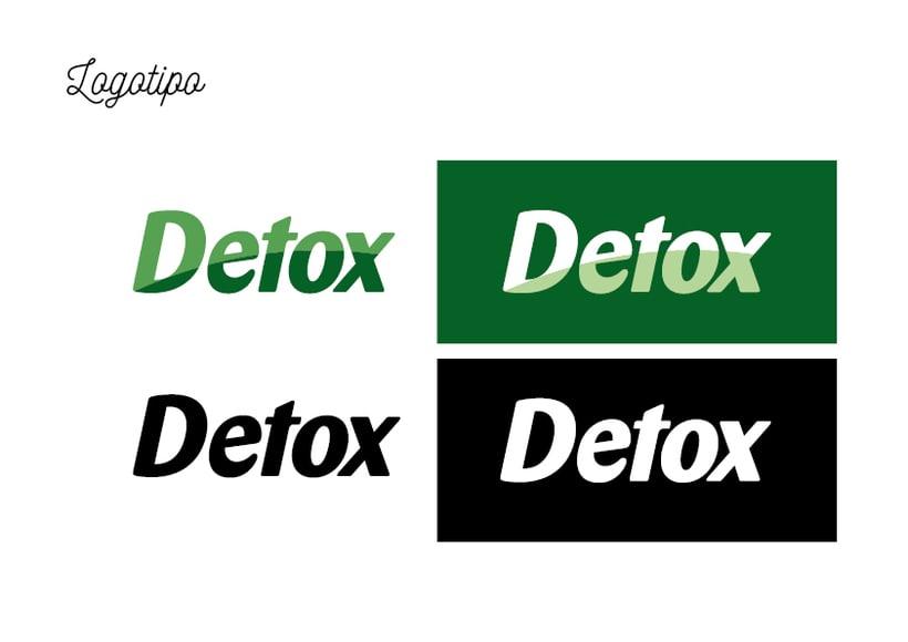 Diseño etiquetas Detox para Claramunt 1