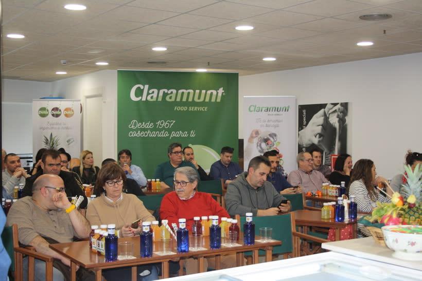 Diseño etiquetas Detox para Claramunt 15