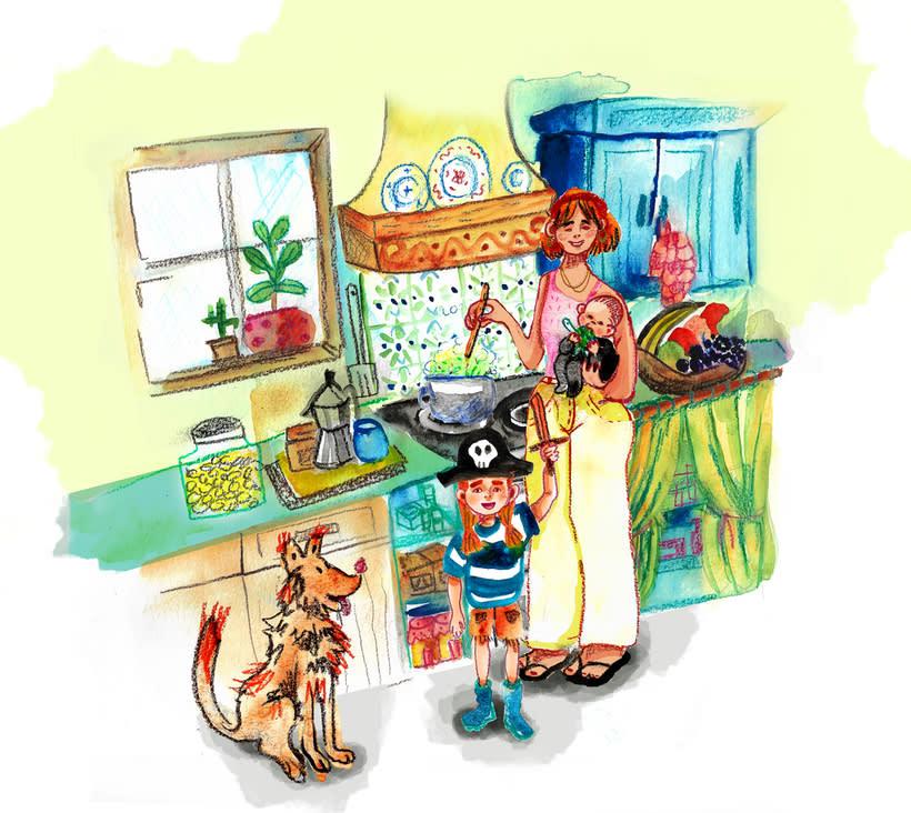 Ilustración infantil • Acuarela 4