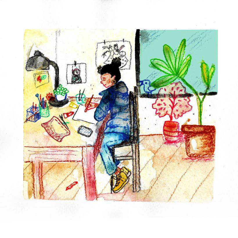 Ilustración infantil • Acuarela 8