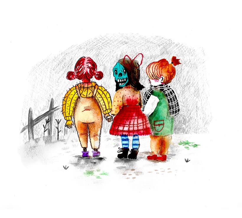 Ilustración infantil • Acuarela 7