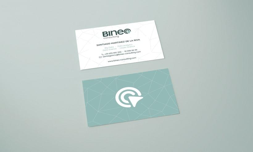 Tarjetas de visita - Bineo Consulting -1