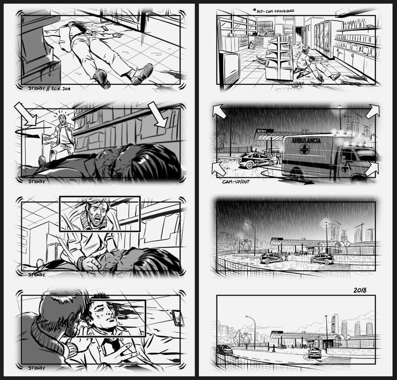 El Aviso - Storyboards 8