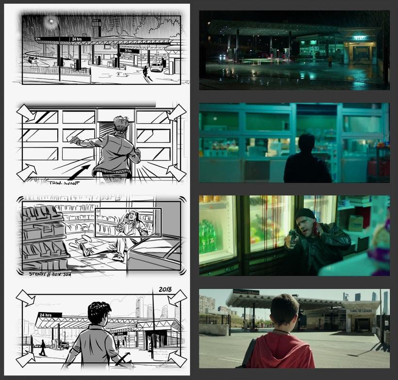 El Aviso - Storyboards 2