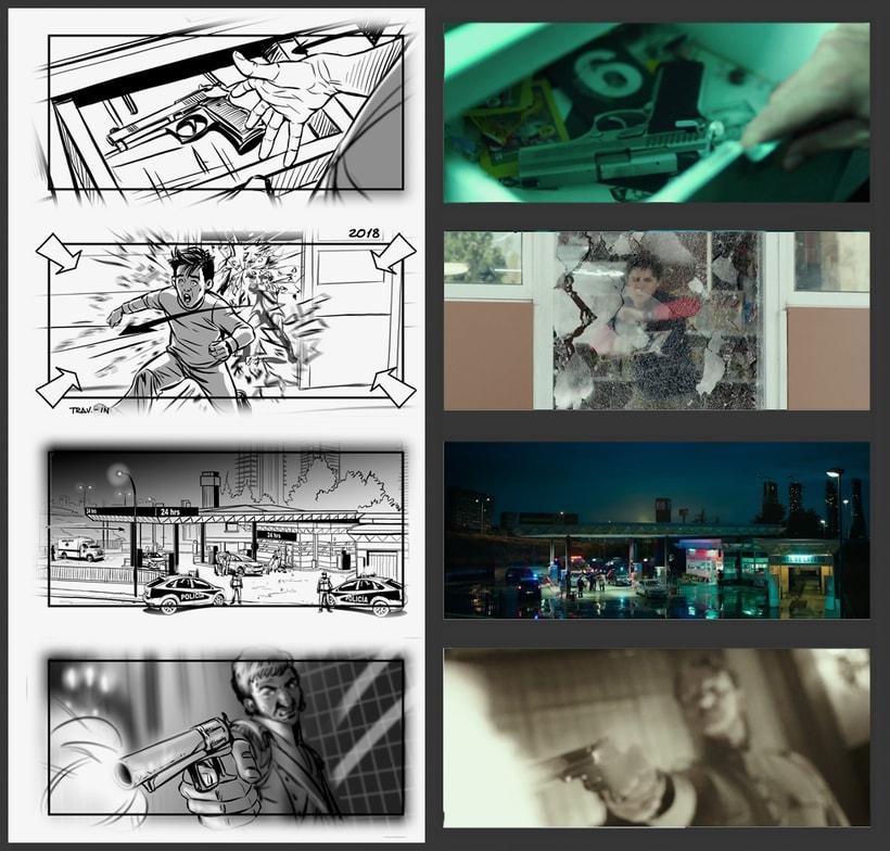 El Aviso - Storyboards 3