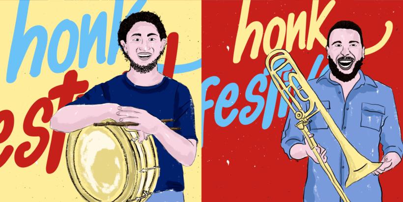 Honk Rio Festival - Cimarrona la Original Domingueña 2