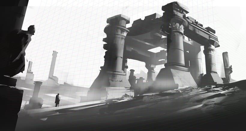 Mi Proyecto del curso:   Concept art para videojuegos AAA 7