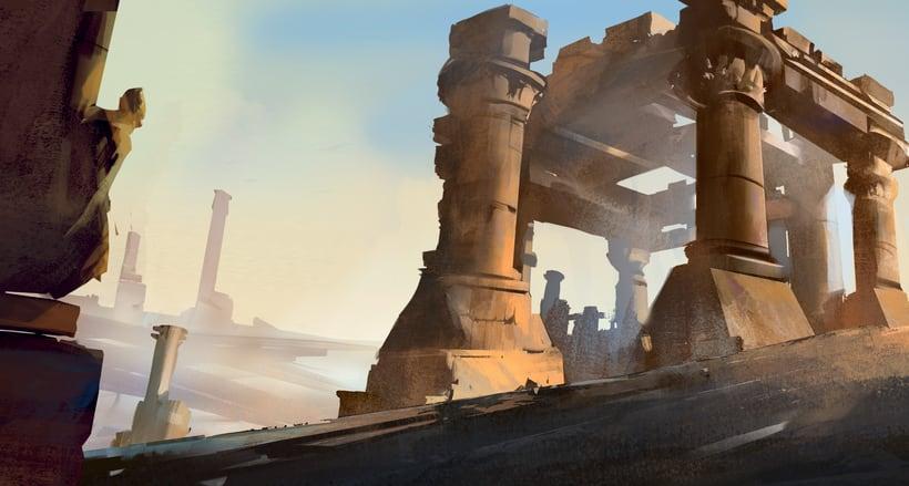 Mi Proyecto del curso:   Concept art para videojuegos AAA 9
